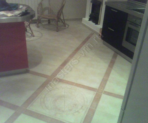Эксклюзивные полы на кухне